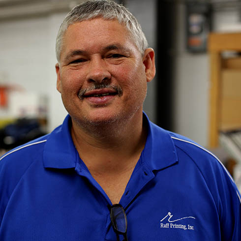 Tim Konesky - Shop Supervisor