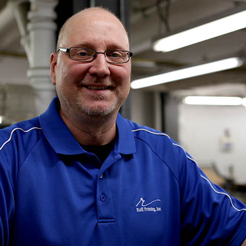 Rob Lubawski - Bindery Supervisor